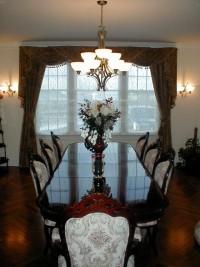 dining room drapery
