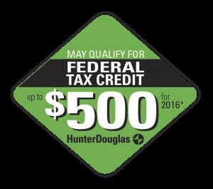 Hunter Douglas Federal Tax Credit 2016
